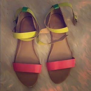 Shoes - Neon cute sandals